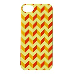 Modern Retro Chevron Patchwork Pattern  Apple Iphone 5s Hardshell Case by creativemom
