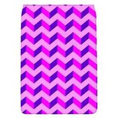 Modern Retro Chevron Patchwork Pattern Removable Flap Cover (small) by creativemom