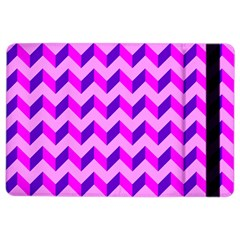 Modern Retro Chevron Patchwork Pattern Apple Ipad Air 2 Flip Case by creativemom