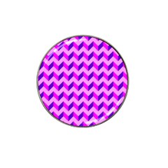 Modern Retro Chevron Patchwork Pattern Golf Ball Marker 4 Pack (for Hat Clip) by creativemom