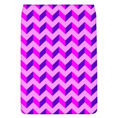 Modern Retro Chevron Patchwork Pattern Removable Flap Cover (large) by creativemom