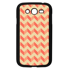 Modern Retro Chevron Patchwork Pattern Samsung Galaxy Grand Duos I9082 Case (black) by creativemom