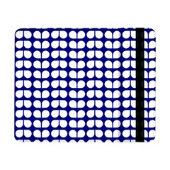 Blue And White Leaf Pattern Samsung Galaxy Tab Pro 8 4  Flip Case by creativemom