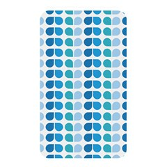 Blue Green Leaf Pattern Memory Card Reader (rectangular) by creativemom
