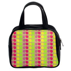 Colorful Leaf Pattern Classic Handbag (two Sides) by creativemom