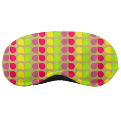 Colorful Leaf Pattern Sleeping Mask by creativemom