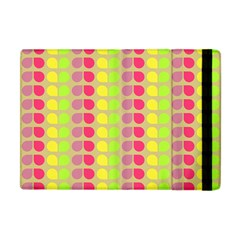 Colorful Leaf Pattern Apple Ipad Mini Flip Case