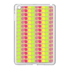 Colorful Leaf Pattern Apple Ipad Mini Case (white) by creativemom
