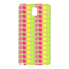 Colorful Leaf Pattern Samsung Galaxy Note 3 N9005 Hardshell Back Case by creativemom