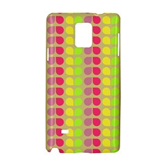 Colorful Leaf Pattern Samsung Galaxy Note 4 Hardshell Case by creativemom