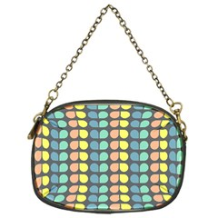 Colorful Leaf Pattern Chain Purse (one Side) by creativemom
