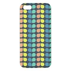 Colorful Leaf Pattern Apple Iphone 5 Premium Hardshell Case by creativemom