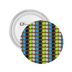 Colorful Leaf Pattern 2 25  Button by creativemom