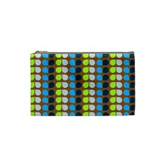 Colorful Leaf Pattern Cosmetic Bag (small) by creativemom