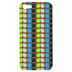 Colorful Leaf Pattern Apple Iphone 5 Hardshell Case by creativemom