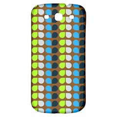 Colorful Leaf Pattern Samsung Galaxy S3 S Iii Classic Hardshell Back Case by creativemom