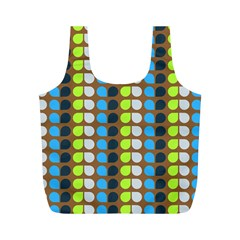 Colorful Leaf Pattern Reusable Bag (m) by creativemom