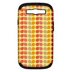 Colorful Leaf Pattern Samsung Galaxy S Iii Hardshell Case (pc+silicone) by creativemom