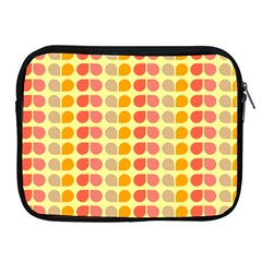 Colorful Leaf Pattern Apple Ipad Zippered Sleeve by creativemom
