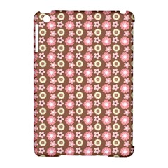 Cute Floral Pattern Apple Ipad Mini Hardshell Case (compatible With Smart Cover) by creativemom