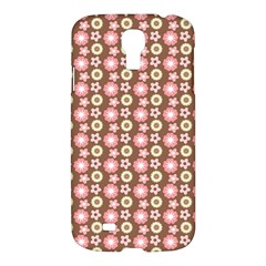 Cute Floral Pattern Samsung Galaxy S4 I9500/i9505 Hardshell Case by creativemom