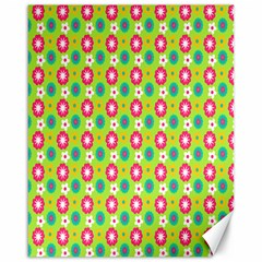 Cute Floral Pattern Canvas 16  X 20  (unframed) by creativemom