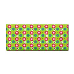 Cute Floral Pattern Hand Towel by creativemom