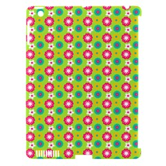Cute Floral Pattern Apple Ipad 3/4 Hardshell Case (compatible With Smart Cover) by creativemom