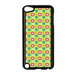 Cute Floral Pattern Apple Ipod Touch 5 Case (black) by creativemom