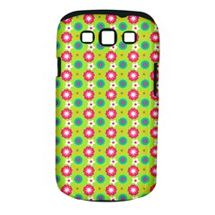 Cute Floral Pattern Samsung Galaxy S Iii Classic Hardshell Case (pc+silicone) by creativemom
