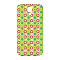 Cute Floral Pattern Samsung Galaxy S4 I9500/i9505  Hardshell Back Case by creativemom