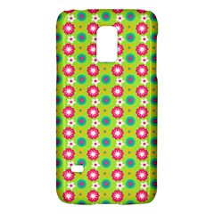 Cute Floral Pattern Samsung Galaxy S5 Mini Hardshell Case  by creativemom