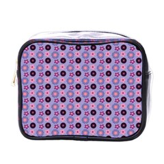 Cute Floral Pattern Mini Travel Toiletry Bag (one Side) by creativemom