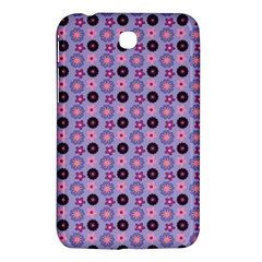 Cute Floral Pattern Samsung Galaxy Tab 3 (7 ) P3200 Hardshell Case  by creativemom