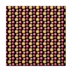 Cute Floral Pattern Face Towel by creativemom