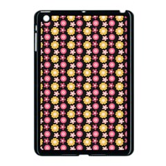 Cute Floral Pattern Apple Ipad Mini Case (black) by creativemom