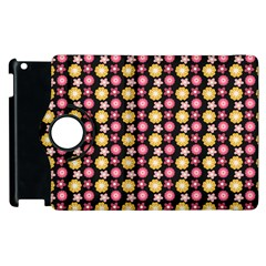 Cute Floral Pattern Apple Ipad 3/4 Flip 360 Case by creativemom