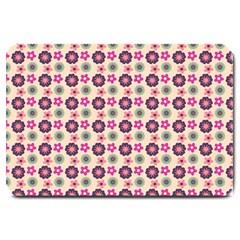 Cute Floral Pattern Large Door Mat