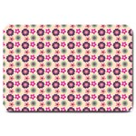 Cute Floral Pattern Large Door Mat 30 x20 Door Mat - 1
