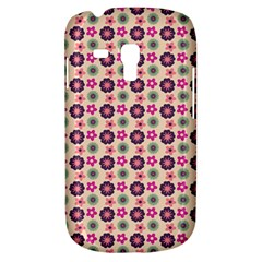 Cute Floral Pattern Samsung Galaxy S3 Mini I8190 Hardshell Case by creativemom