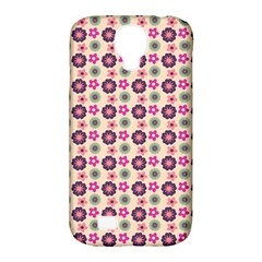Cute Floral Pattern Samsung Galaxy S4 Classic Hardshell Case (pc+silicone) by creativemom