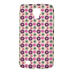 Cute Floral Pattern Samsung Galaxy S4 Active (i9295) Hardshell Case by creativemom