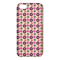 Cute Floral Pattern Apple Iphone 5c Hardshell Case by creativemom