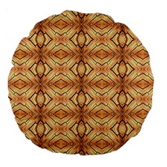 Faux Animal Print Pattern 18  Premium Round Cushion  by creativemom