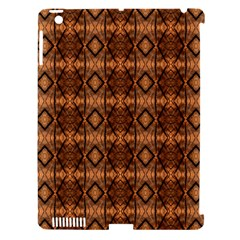 Faux Animal Print Pattern Apple Ipad 3/4 Hardshell Case (compatible With Smart Cover) by creativemom