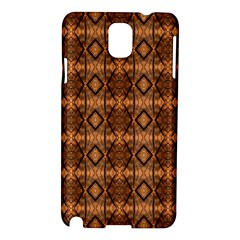 Faux Animal Print Pattern Samsung Galaxy Note 3 N9005 Hardshell Case by creativemom