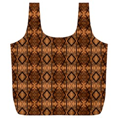 Faux Animal Print Pattern Reusable Bag (xl) by creativemom