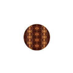 Faux Animal Print Pattern 1  Mini Button by creativemom