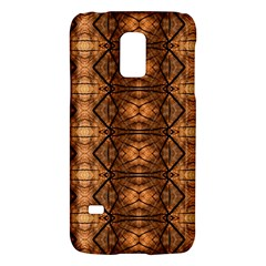Faux Animal Print Pattern Samsung Galaxy S5 Mini Hardshell Case  by creativemom