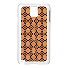 Faux Animal Print Pattern Samsung Galaxy Note 3 N9005 Case (white) by creativemom